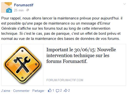 Maintenance forumactif : le forum..des ralentissements..pas d'inquietude Captur20