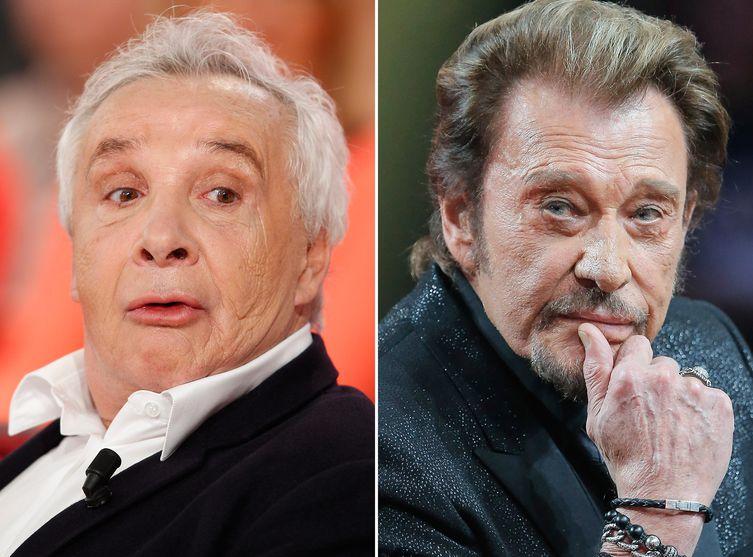 Voici.fr :Johnny Hallyday ne voit plus Michel Sardou parce qu' il « l'ennuie » Michel10