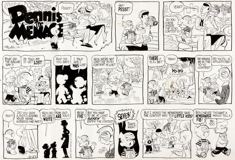 Hank Ketcham et Dennis the Menace ( Denis la Malice ) - Page 4 Ketcha13