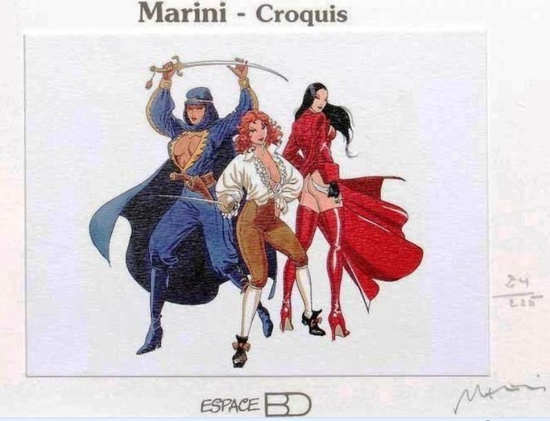 Marini : les autres BD Marini13