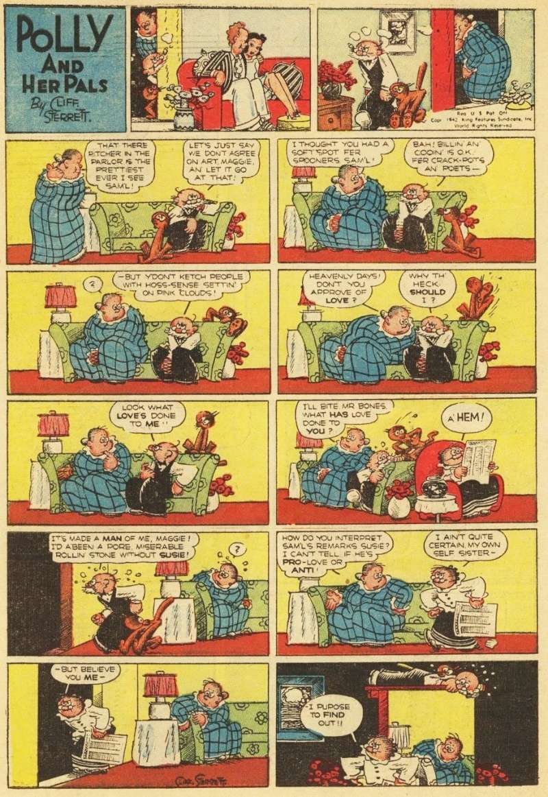 Cliff Sterett, auteur de Polly and her pals - Page 3 Pollyc10