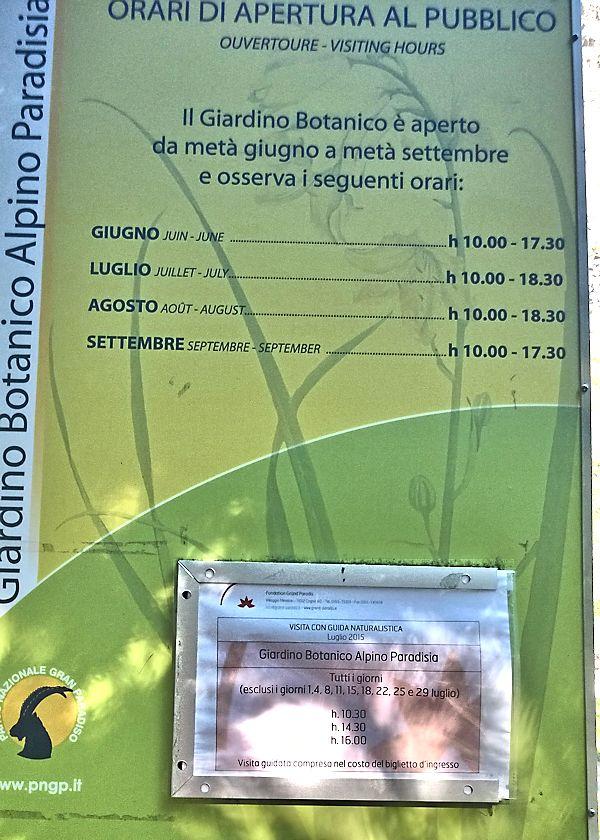 Jardin botanique alpin Paradisia, Cogne, Vallée d'Aoste (IT) Cogne_11
