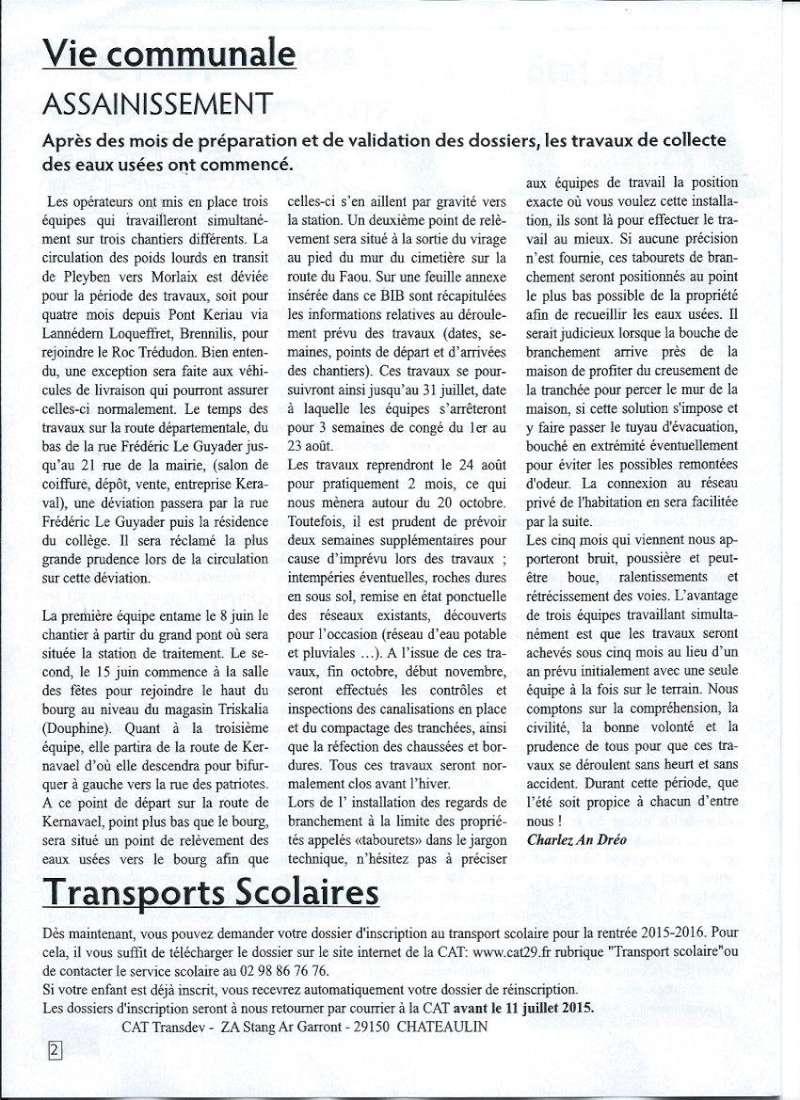 Bulletin d'information de Brasparts n°45 0210