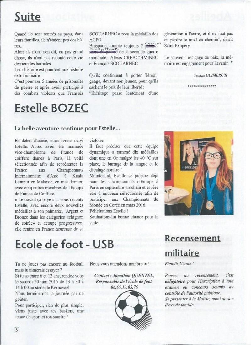 Bulletin d'information de Brasparts n°45 0510