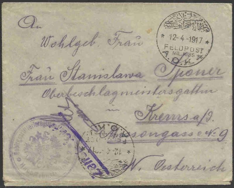Deutsche Feldpost aus der Türkei Deutsc10