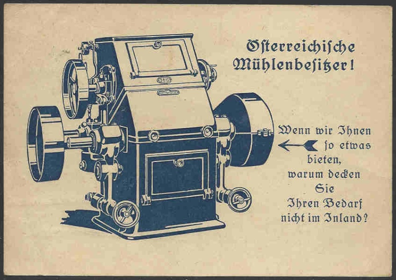 Werbeumschläge und -karten aus Österreich - Seite 3 Werbek10