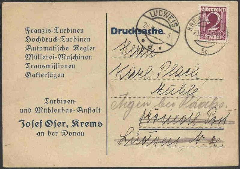Werbeumschläge und -karten aus Österreich - Seite 3 Werbek11