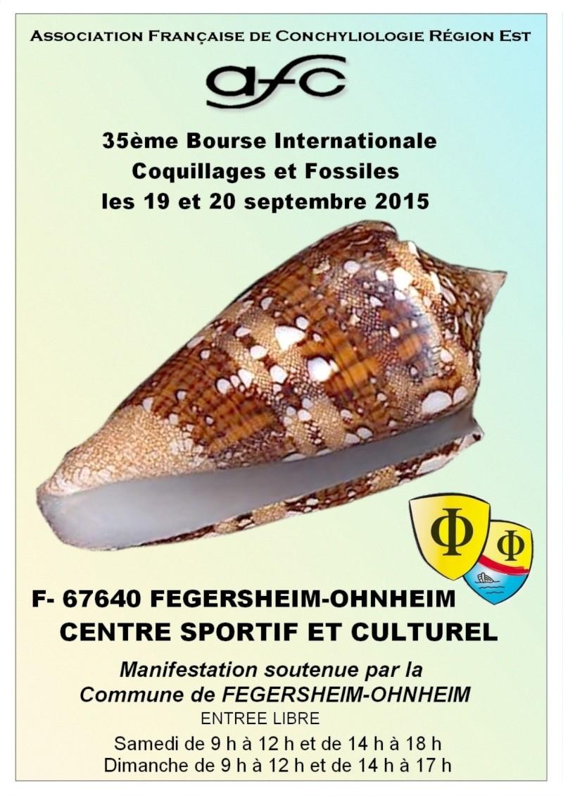2015 Bourse Fegersheim-Ohnheim - 19 & 20 septembre - AFC Région EST Affich10