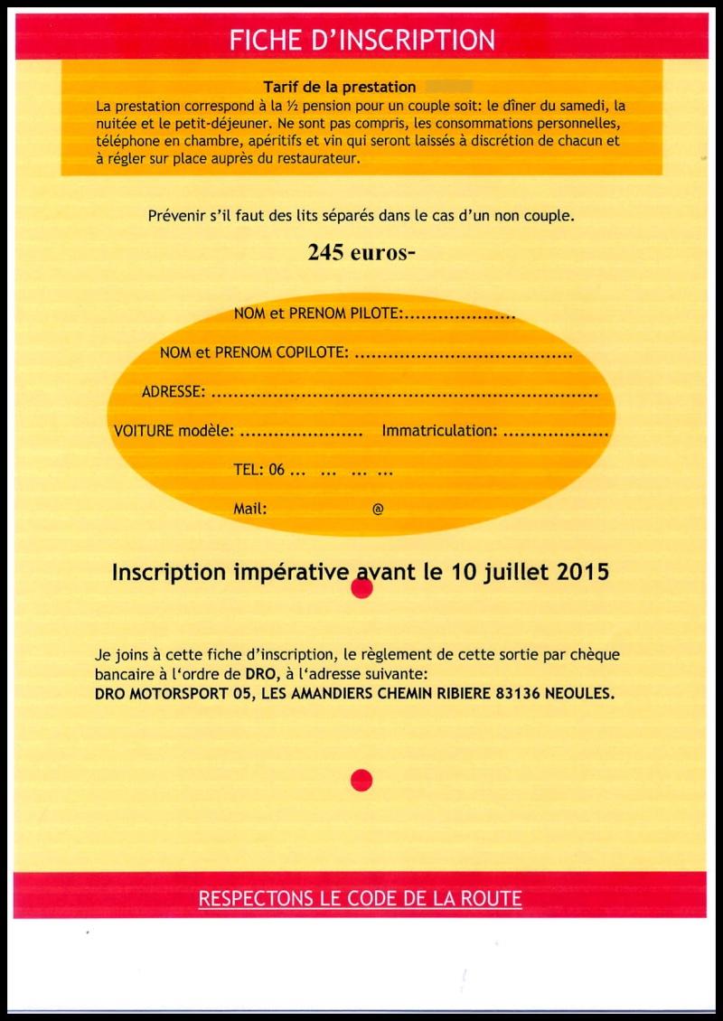 """ROAD-TRIP """"GT SERIE LEGENDE"""" SAMEDI 12 DIMANCHE 13 SEPTEMBRE 2015 Serie_14"""
