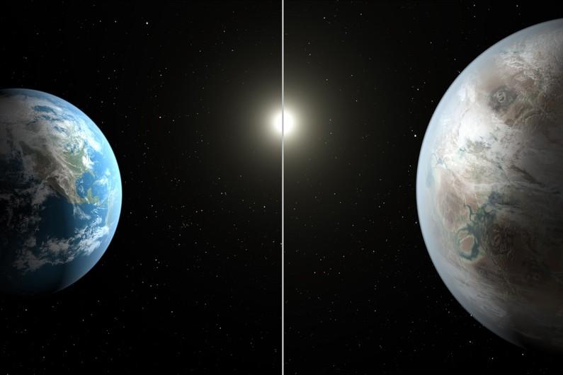 Une seconde Terre découverte ? (NASA) Exo10