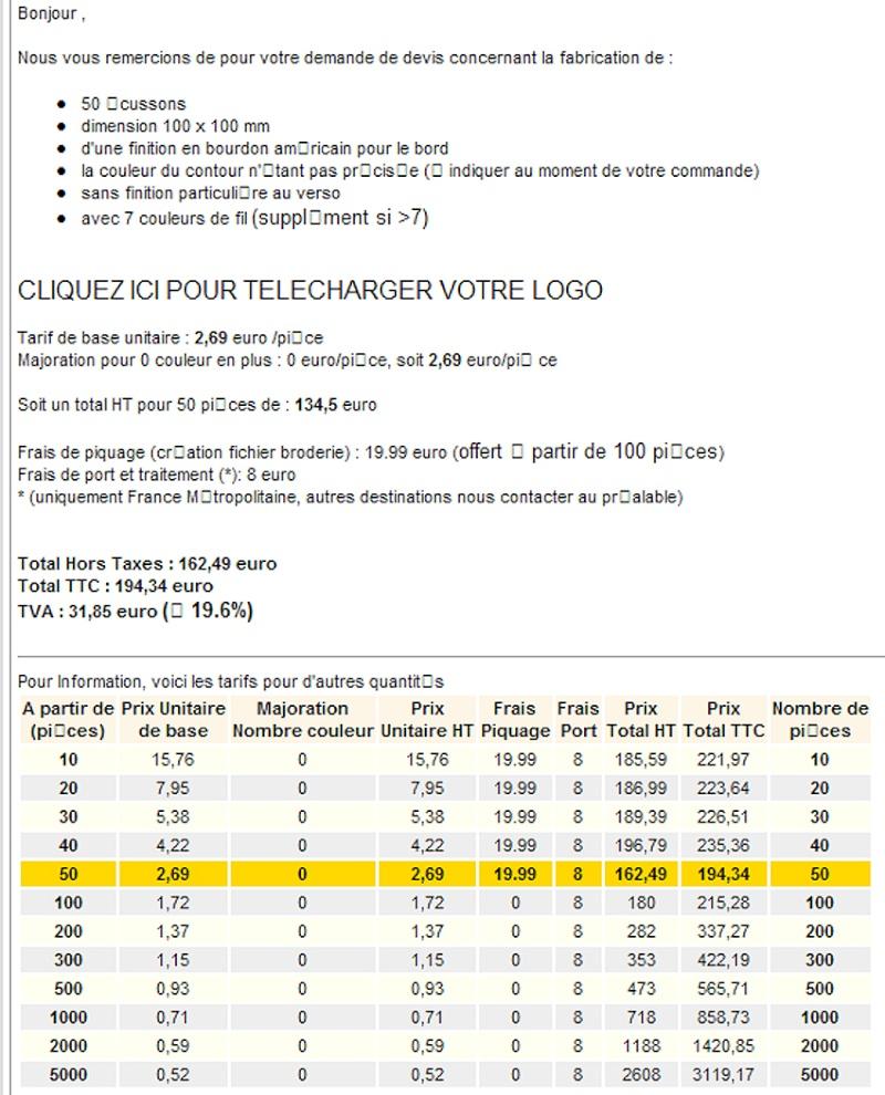 """[PATCH du FCS] """"fabrication et dérivés"""" - Page 7 Prix-b10"""