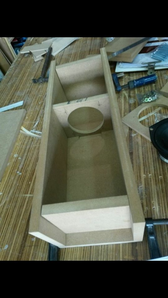 DIY AB1 Subwoofer for LS3/5A speakers (New) Screen21