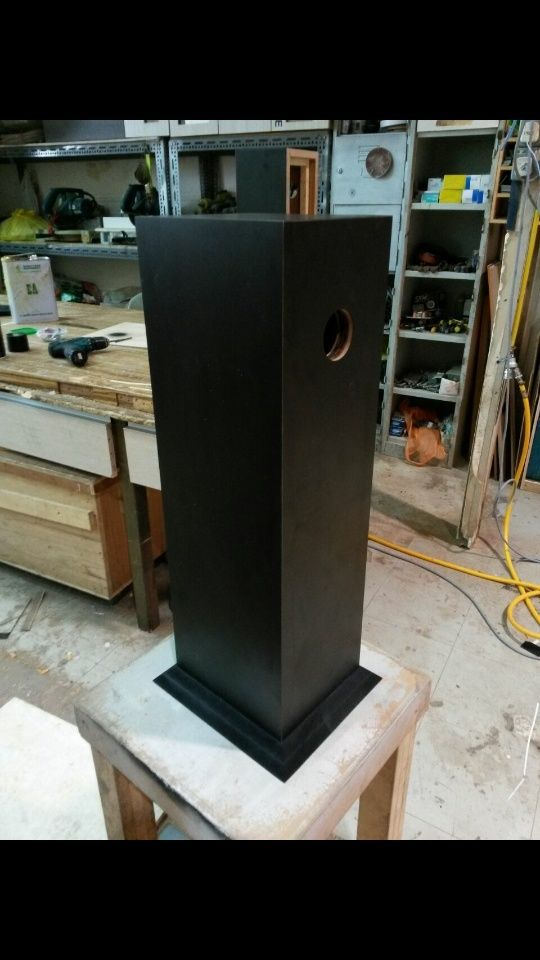 DIY AB1 Subwoofer for LS3/5A speakers (New) Screen38