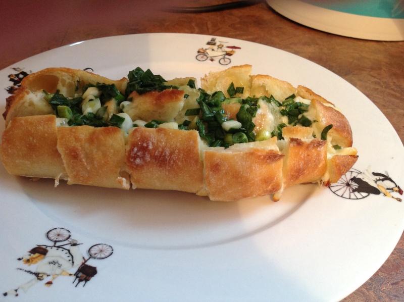 Pain à l'oignon et au fromage (Bloomin' Onion bread) Img_3019