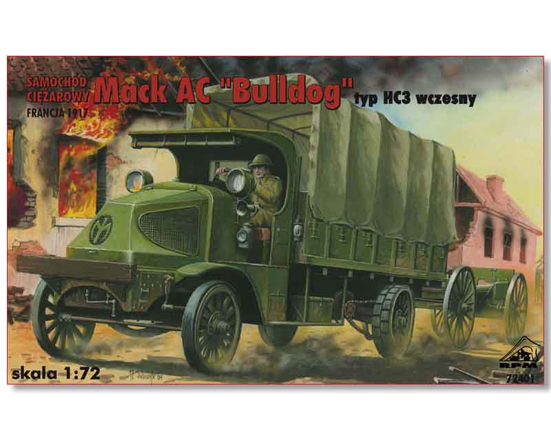 "Mack AC ""Bulldog"" RPM + photodécoupe PART - 1/72 7240110"
