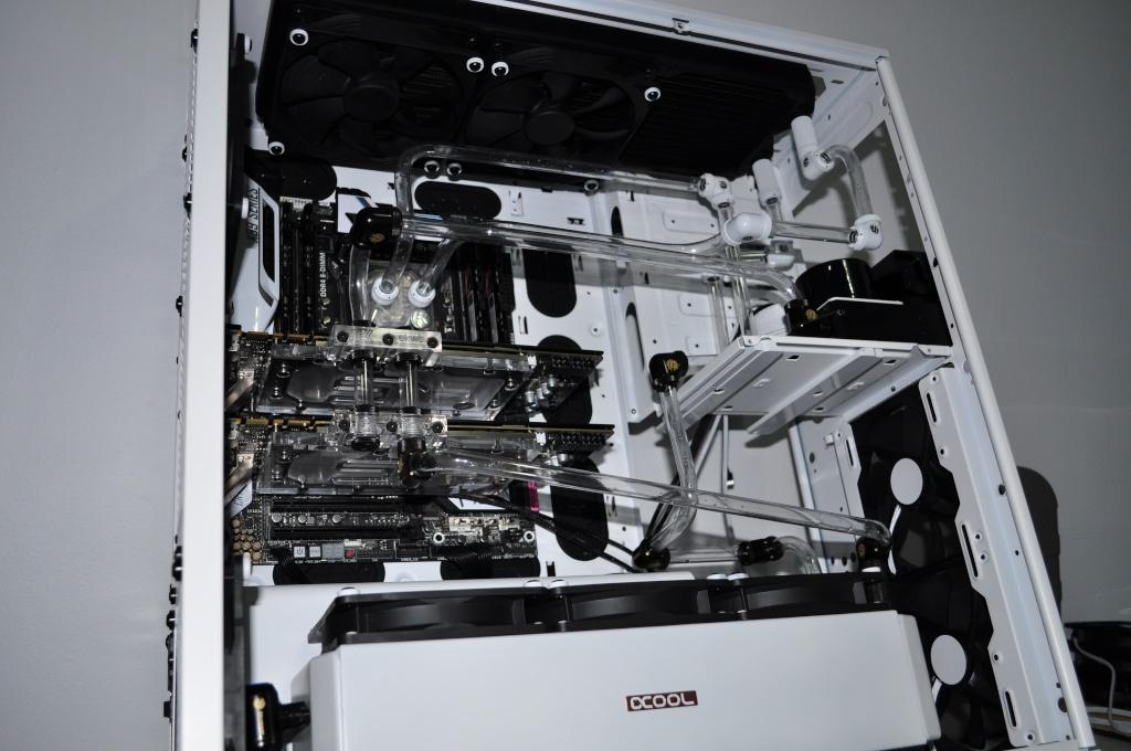 Projet pour Armada ///// Phanteks Enthoo Primo Ultimate White Dsc_0215
