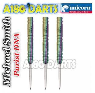 Michael Smith Unicorn Purist Darts, DNA Bully Boy 90% Tungsten  A180_326