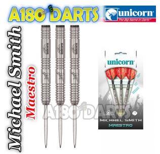 Unicorn Maestro 90% Tungsten Darts Michael Smith A180_337