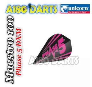 UNICORN BLACK & PINK PHASE 5 MIRAGE FLIGHTS 3 DIFFERENT SHAPES AVAILABLE A180_355