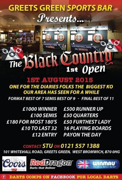 """""""BLACK COUNTRY 1st OPEN - 1st AUGUST""""  A180_465"""