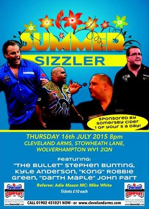 SUMMER SIZZLER - CLEVELAND ARMS, WOLVERHAMPTON - THURSDAY 16th JULY  A180_478