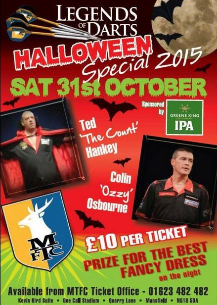 HALLOWEEN SPECIAL 2015 - SATURDAY 31st OCTOBER  A180_482