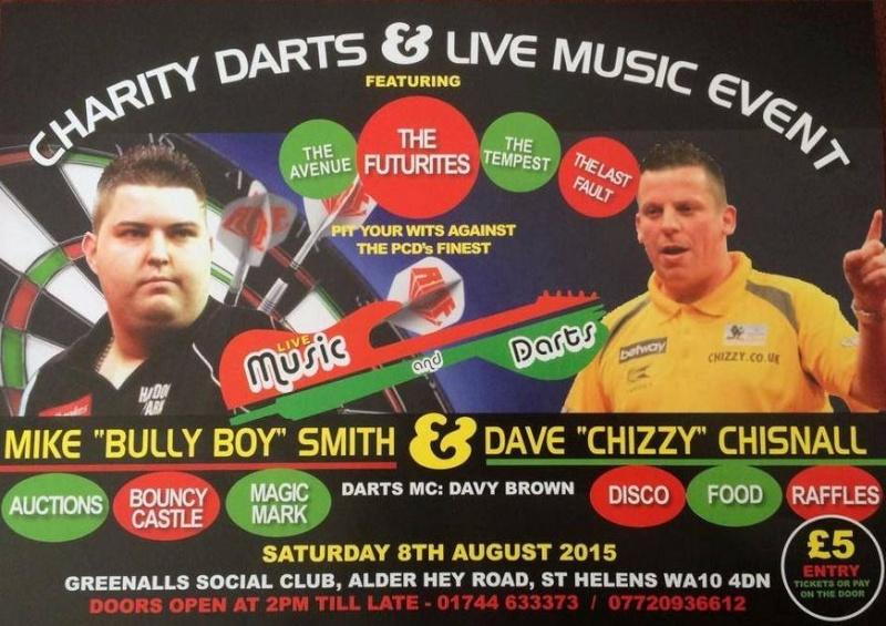 """MIKE """"BULLY BUY"""" SMITH & DAVE """"CHIZZY"""" CHISNALL - 8th AUGUST  A180_483"""