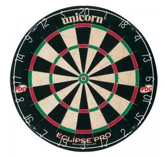 New Unicorn Eclipse pro Bristle Dartboard.  A180_p15