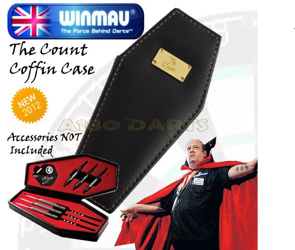 Winmau's Ted ''THE COUNT'' Hankey Darts + ACCESSORIES Captur38