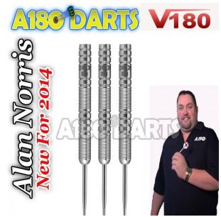 V180 Alan Norris 22g  or 24g Tungsten Darts 90% V180_810