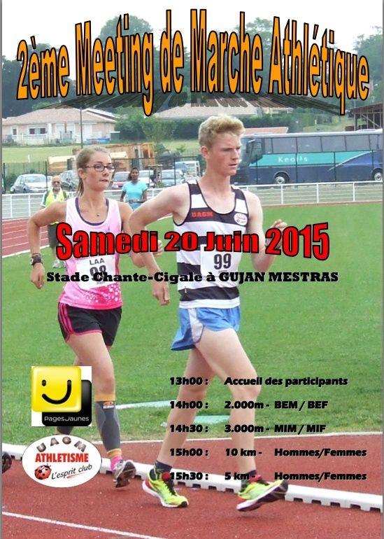 2ème Meeting de marche athlétique Yes10