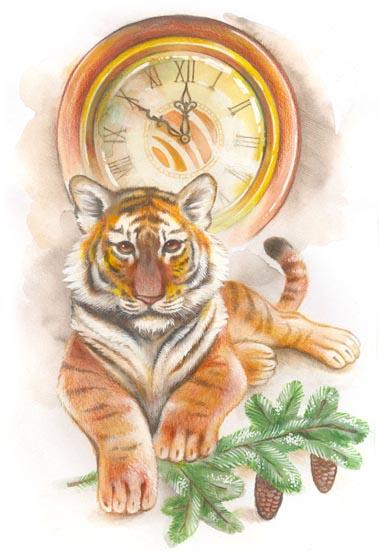 С Новым Годом! Tiger10