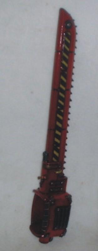 Warhammer, Gungrave & Sabers. Chains15