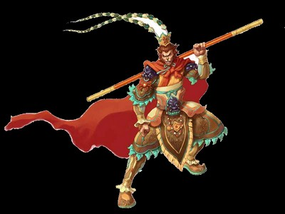 Sun Wukong ou Le Dieu singe Sun_wu10
