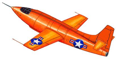 Bell X-1 - Quebramos a barreira do som !!! Bell-x22