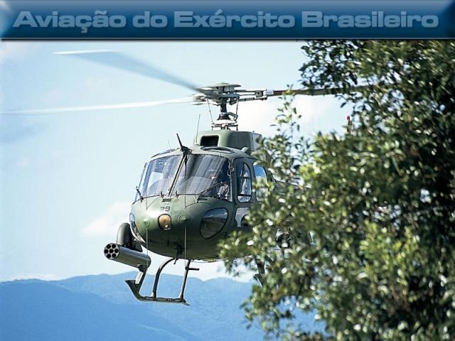 A Aviação do Exército Brasiseiro Esquil14