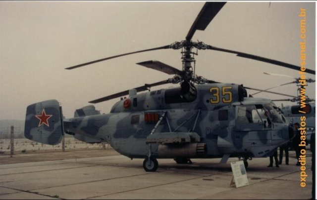 KAMOV - o pai do helicoptero coaxial russo Foto410