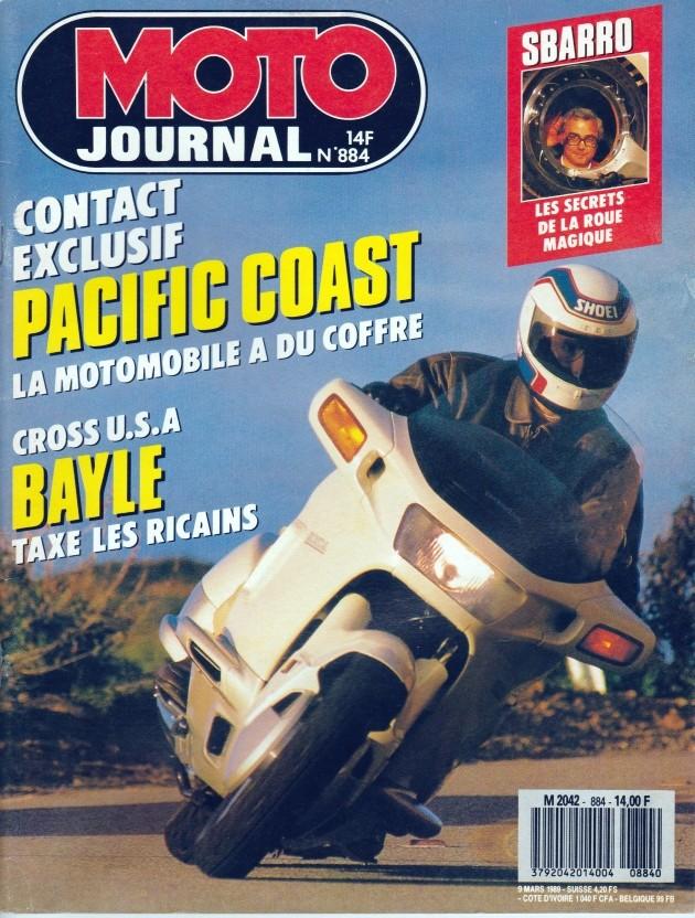 Pacific Coast, la motomobile a du coffre (Moto journal) 00111