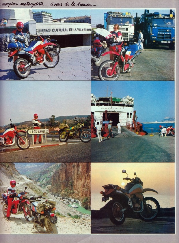 3500 kms en Honda 750 XLV (Moto Journal) 910