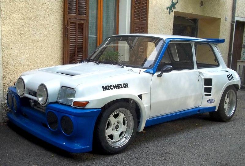 Pas très original, encore une restauration de R 5 turbo 100_1911