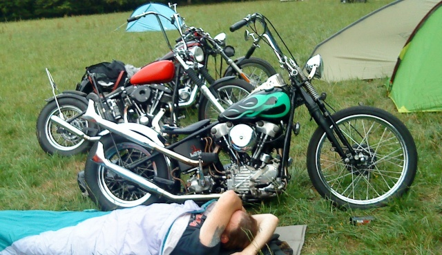 Les vieilles Harley....(ante 84) par Forum Passion-Harley - Page 39 Dsc01329