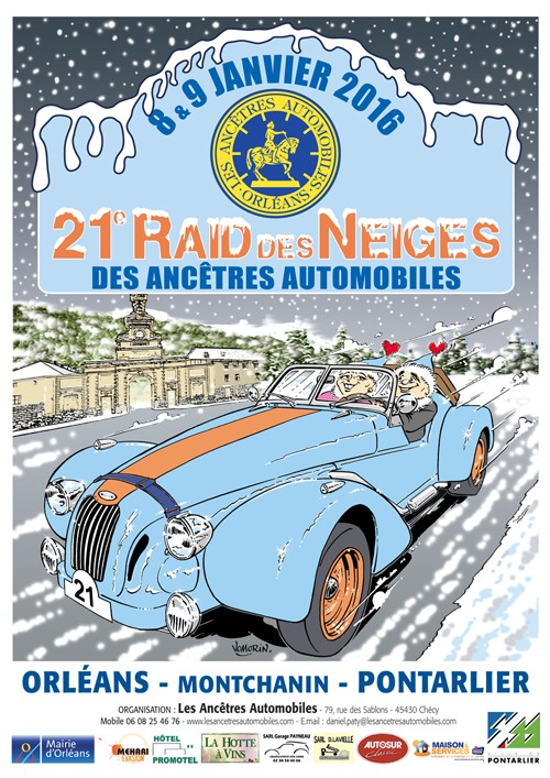 21e Raid des Neiges 8 & 9 Janvier 2016  2015af12
