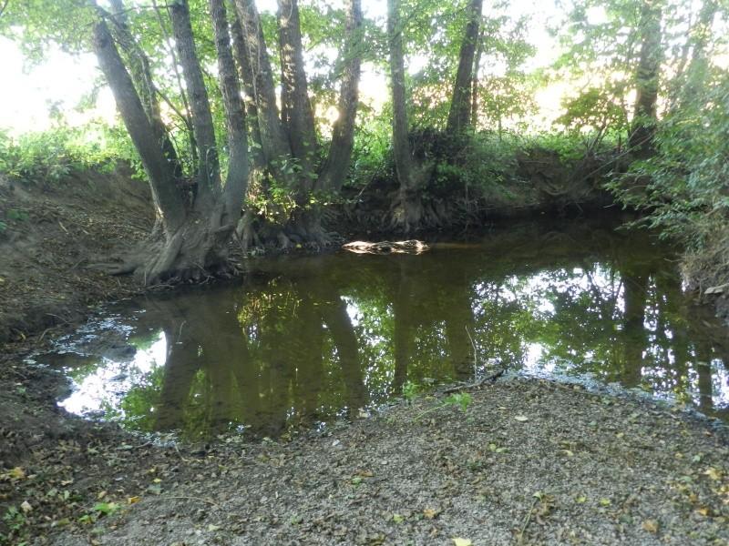 Promenade dans la rivière en juillet 2015 Vauvyr73