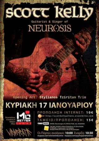 Scott Kelly (Neurosis) Live @ Mo'Better 17/1/10 Scottk10