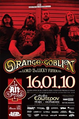 Orange Goblin,Lord13,Lucky Funeral @ An Club 16/01/10 Slabs-10