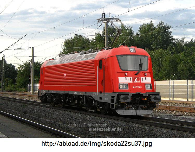 Die NEUE BR 102 DB / 380 ČD / 109-E ČSD. (Link) Skoda210