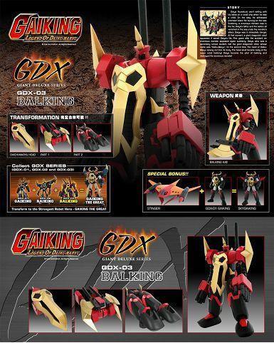 GDX-01 GAIKING Gdx-0310