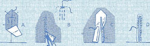 """[Technique couture] """"Ouvrir"""" une robe sur le devant (cavalière) Fente_10"""