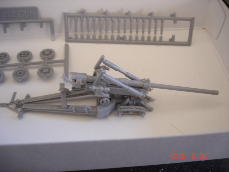 High Speed Tractor M5 et M2 155mm Gun Long Tom [Hasegawa - 1/72] Dsc00124