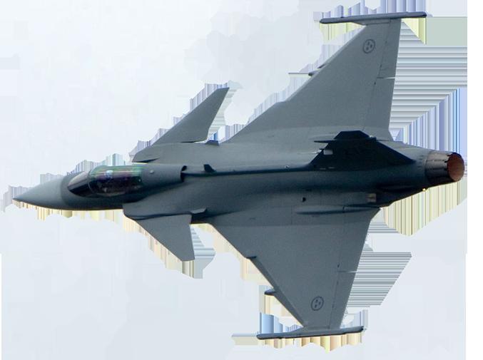 المقاتلة الذكية GRIPEN Gripen12
